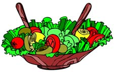 Tossed Salad Clipart.