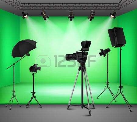 304 Green Screen Studio Stock Vector Illustration And Royalty Free.