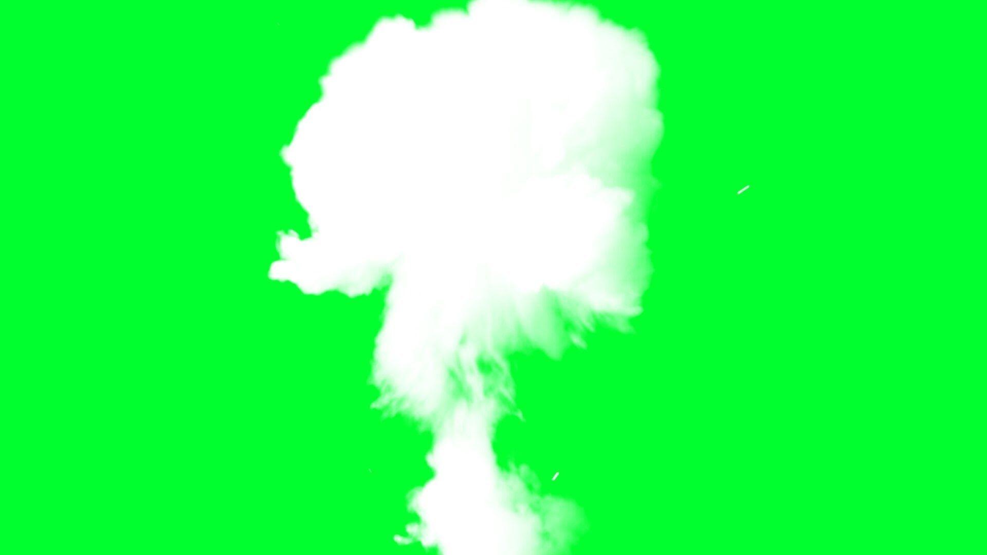 smoke explosion smoke cloud.