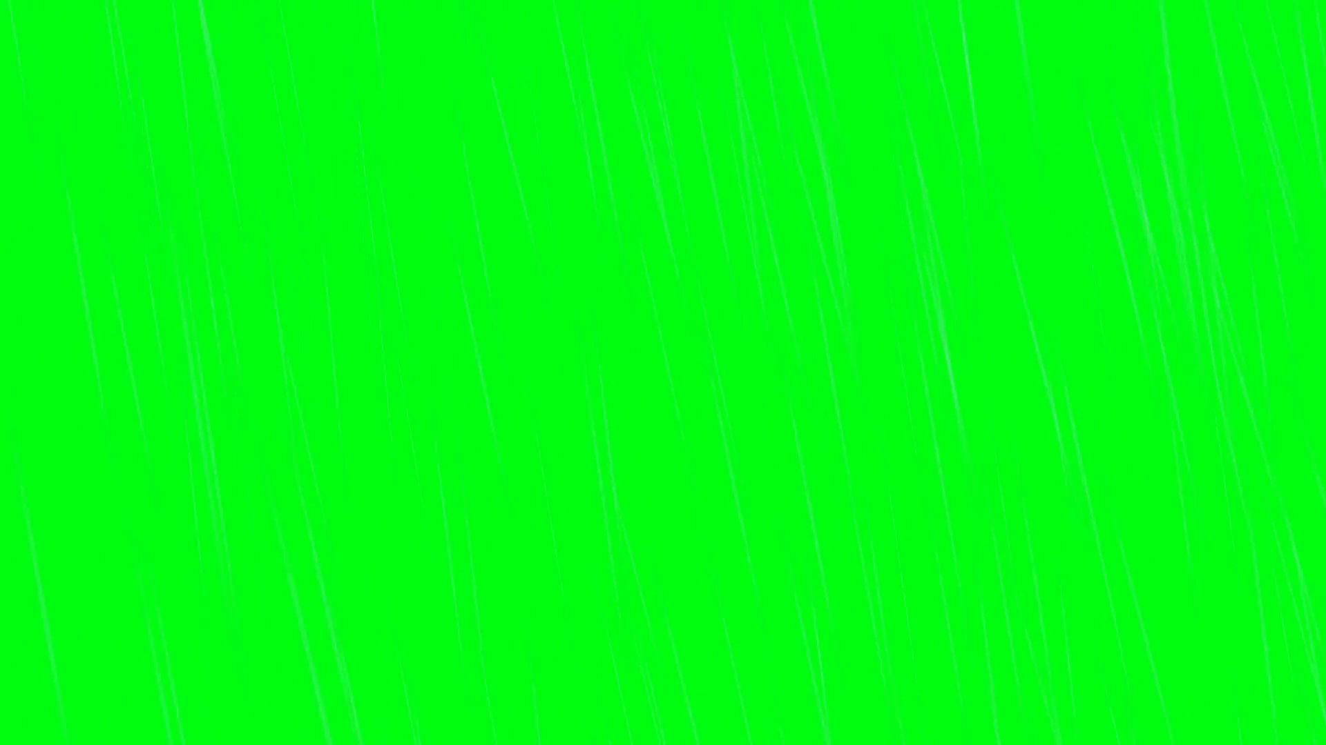 Heavy rain on a green screen Motion Background.