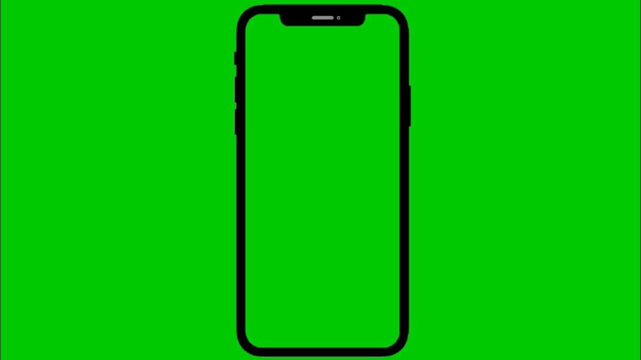iphone X Green Screen Effect.
