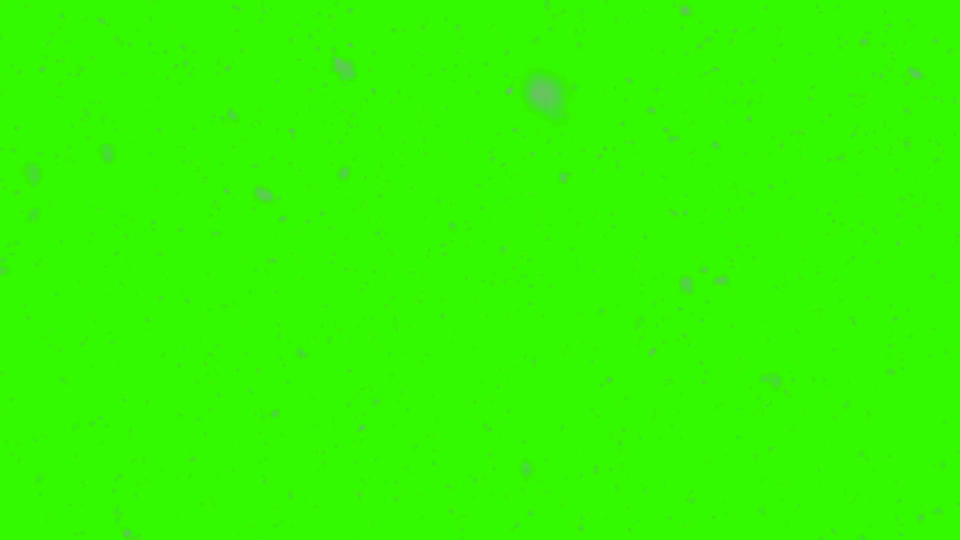 Realistic snowflakes snow storm green screen background.