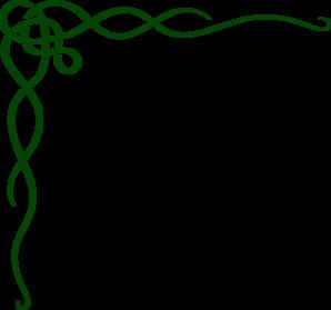 Green Celtic Scroll Clip Art at Clker.com.