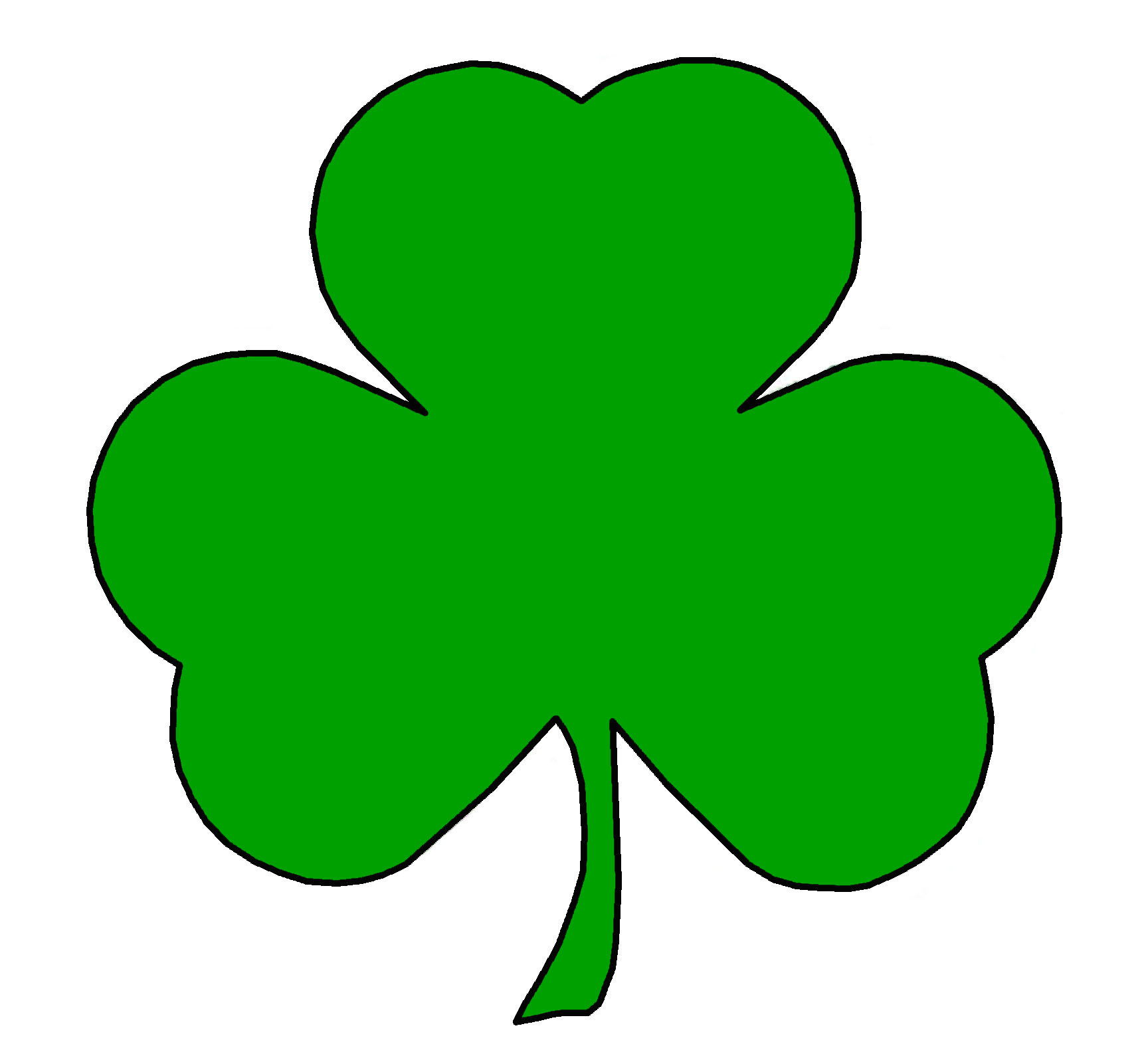 Free Shamrock Outline, Download Free Clip Art, Free Clip Art on.