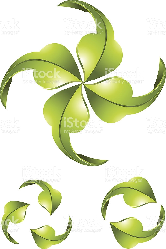 Arrows Green Sheet stock vector art 153433326.