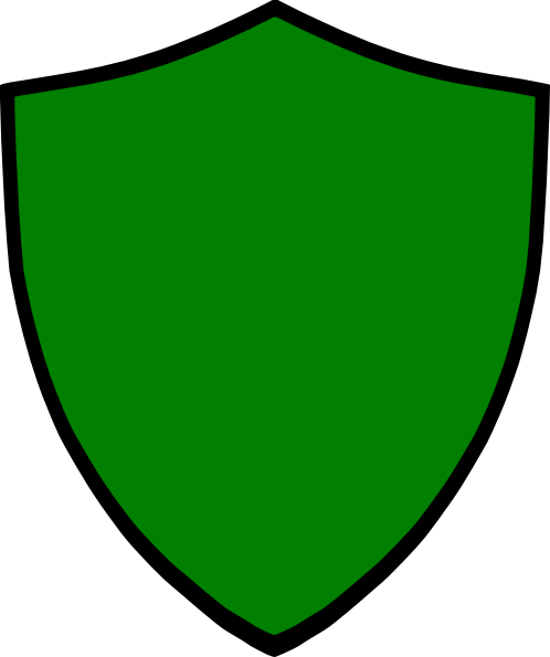 Green Shield Clip Art at Clker.