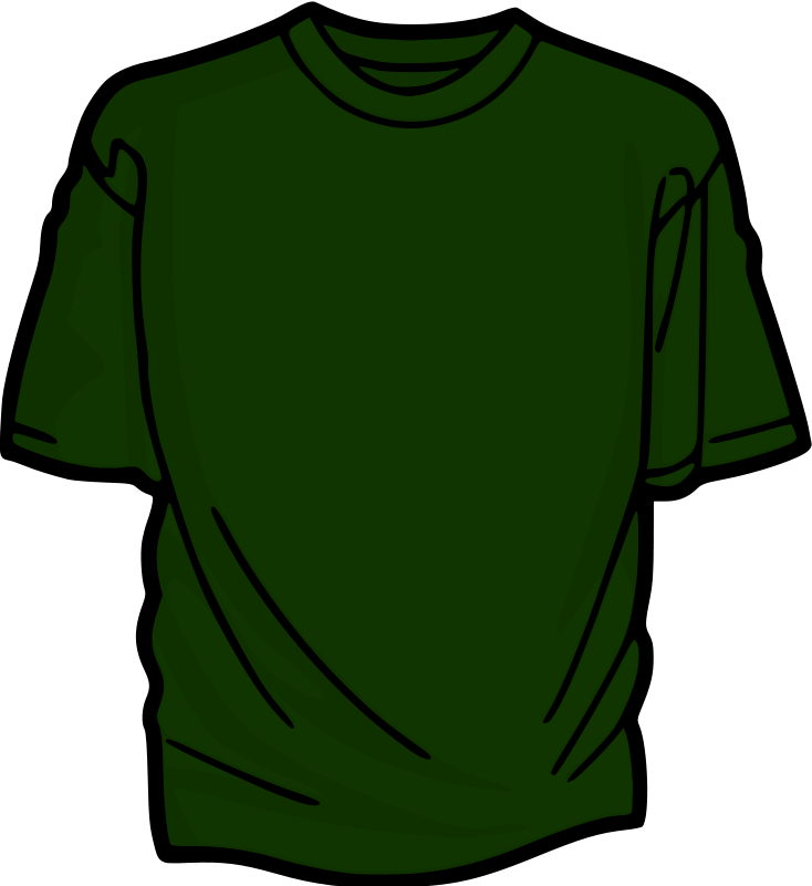 Free Clipart: Green T.