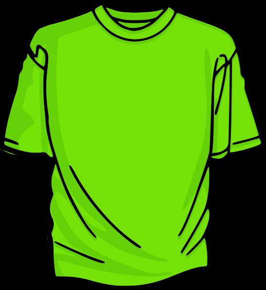 Green shirt clipart 2 » Clipart Station.