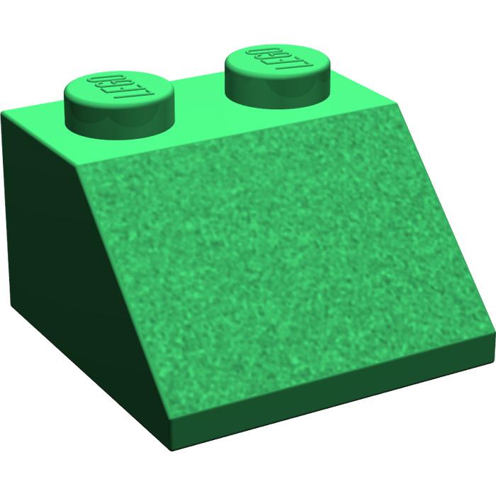 LEGO Green Slope 45° 2 x 2 (3039).