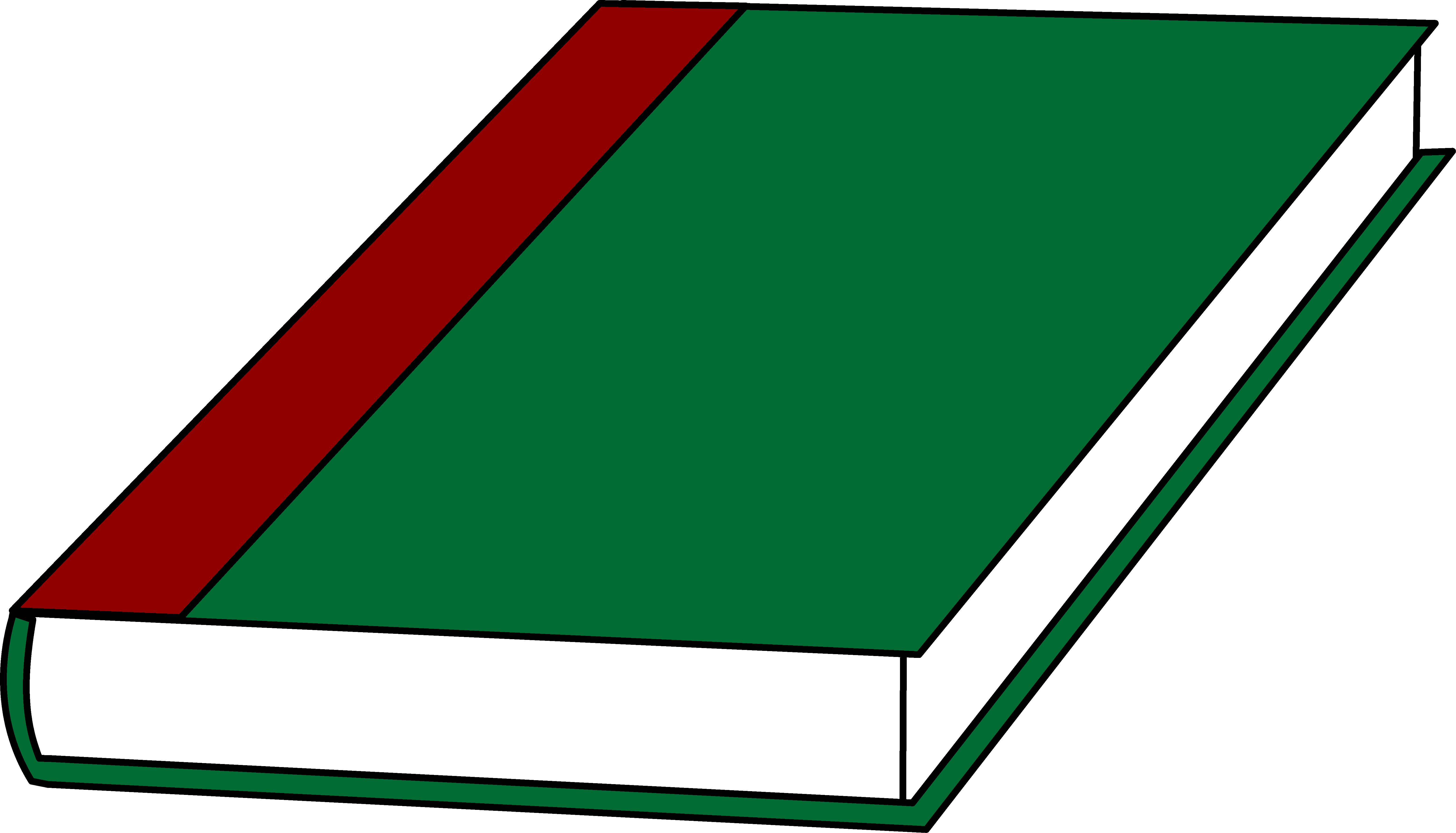 A Book With a Green Cover.