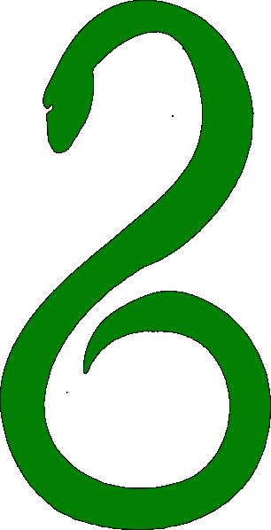 Green Snake Clipart.