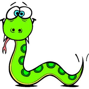 Green Snake Clip Art.