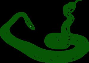 Dark Green Snake Clip Art at Clker.com.