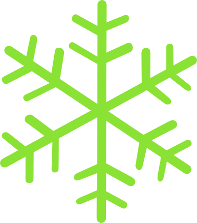 Green Snowflake.