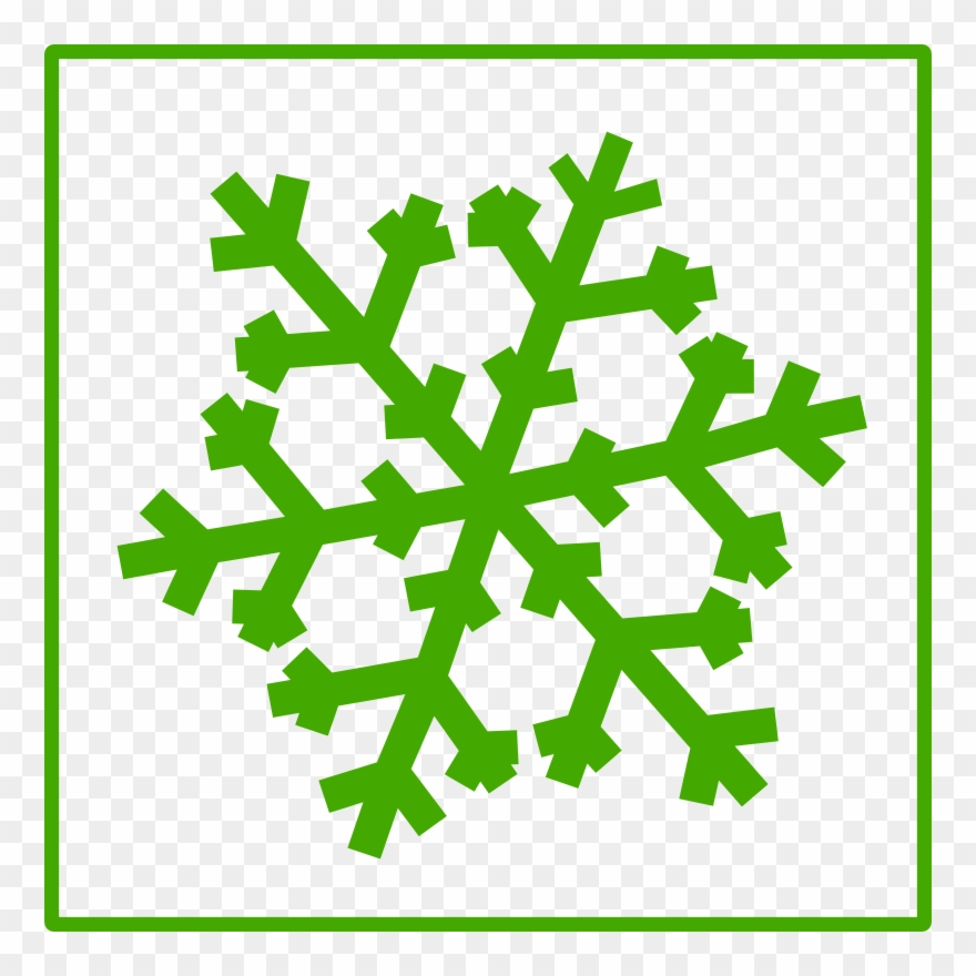 Download Green Snowflake Png Clipart Clip Art Snow.