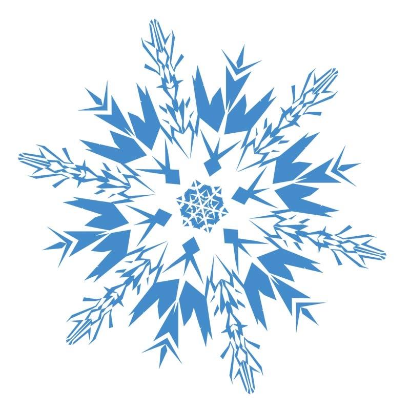 276 Snowflake Clipart Snowflake Clipart ~ ClipartFan.