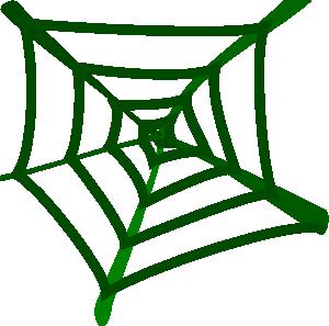Spider Web Clip Art at Clker.com.