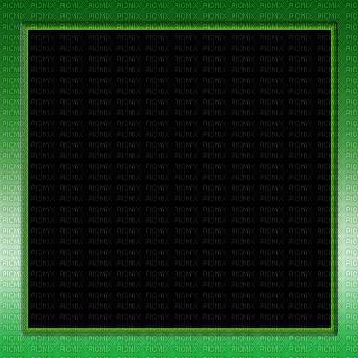 Green Square Frame #25169.