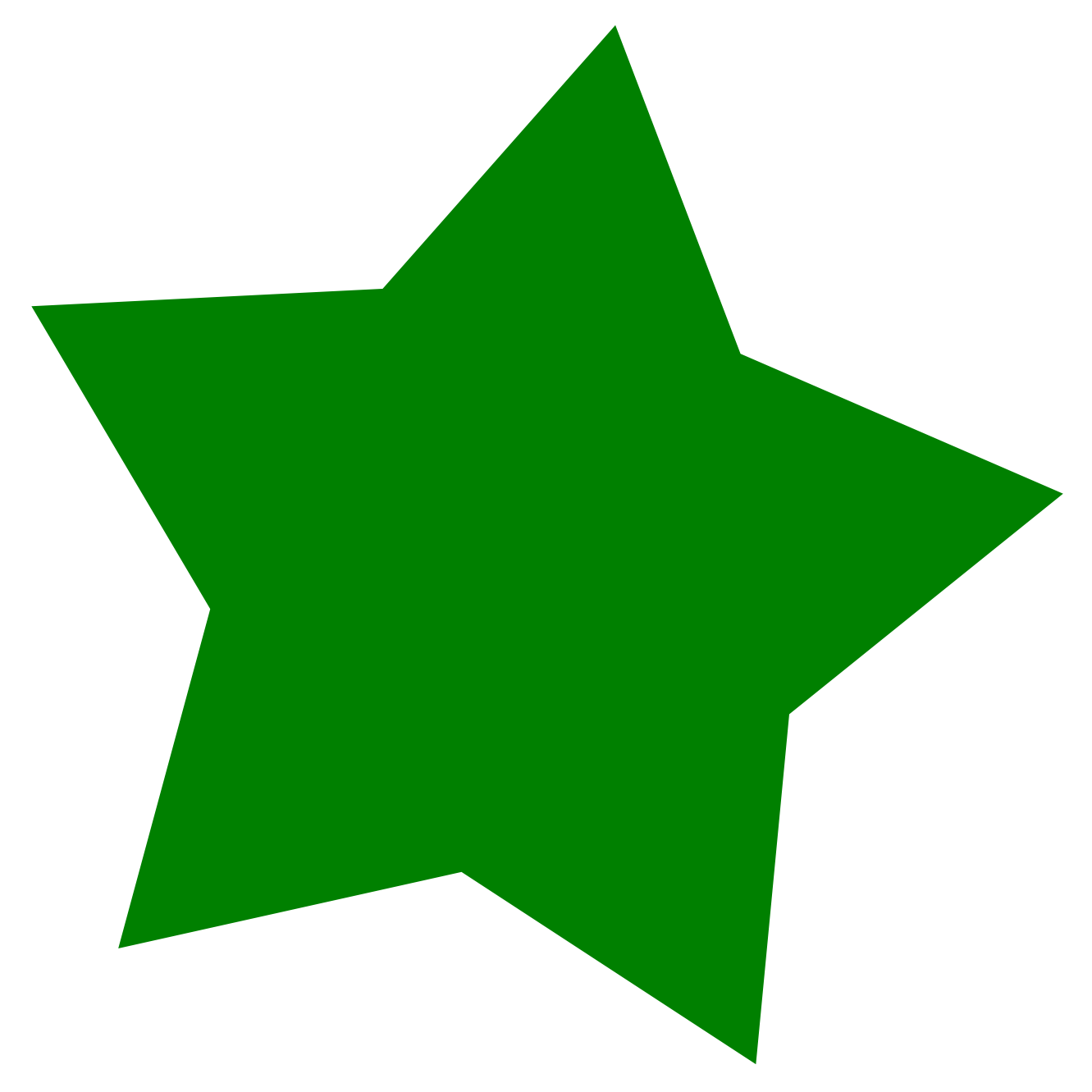 Green star clipart clipart images gallery for free download.