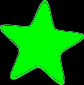 Green Star Clip Art at Clker.com.