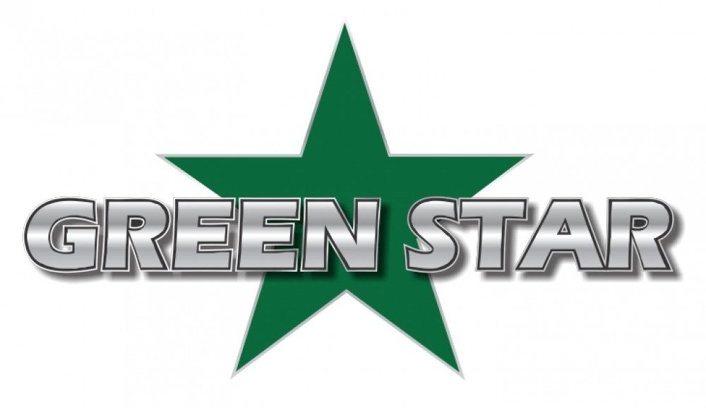 Green star Logos.