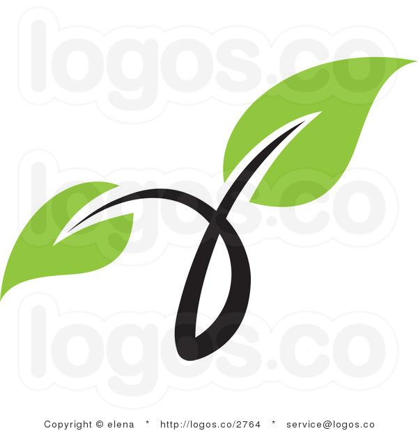 Green Leaves Clip Art.