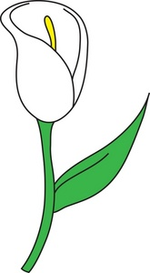 Flower Stems Clipart.