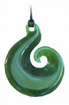 Jade Koru.