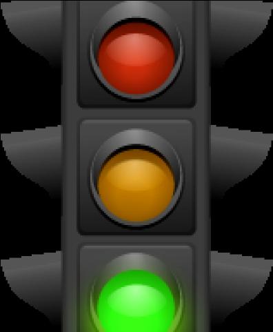 Clipart Transparent Stoplight Clipart Green Traffic Light.