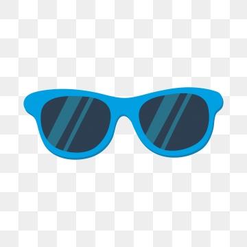 Blue Sunglasses PNG Images.