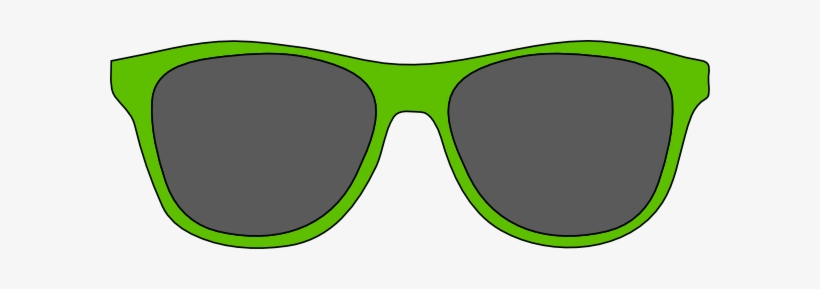 Green Sunglasses Clipart.