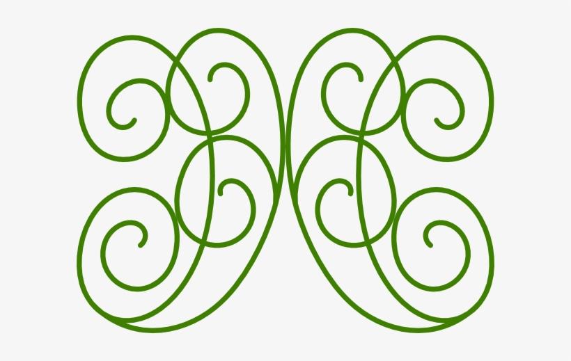 Green Swirls Microsoft Clipart.