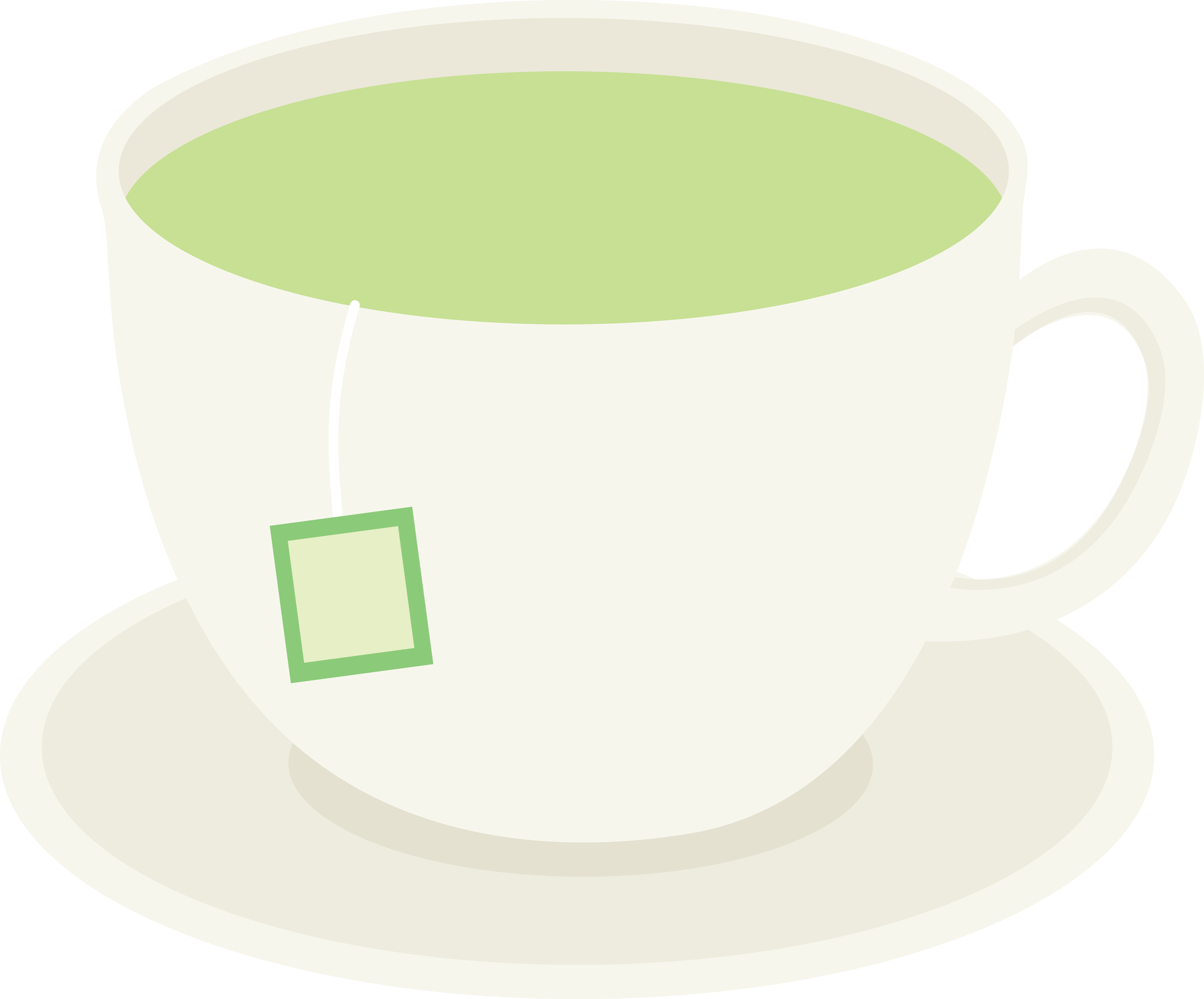 Cup of Healthy Green Tea.