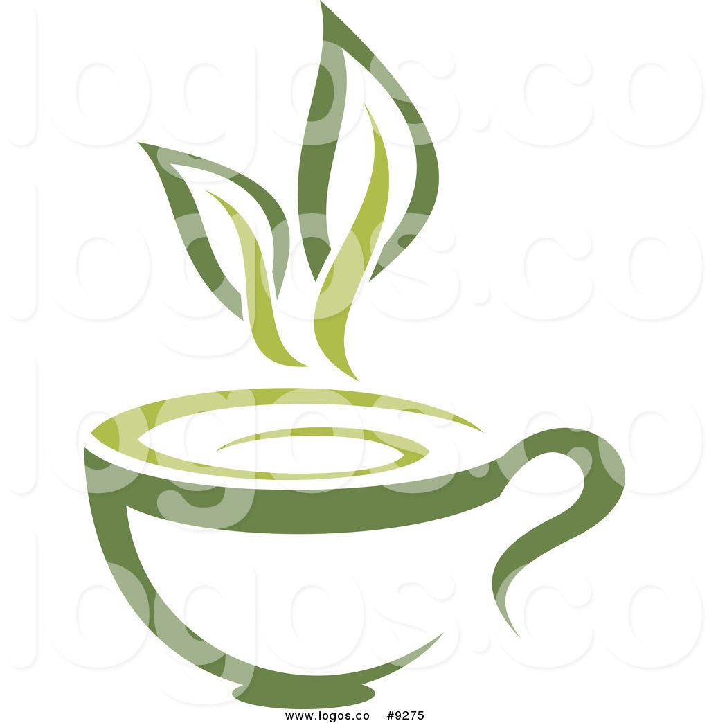 Green Tea Leaves Clip Art.