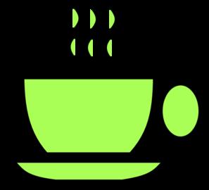 Green green tea clipart.
