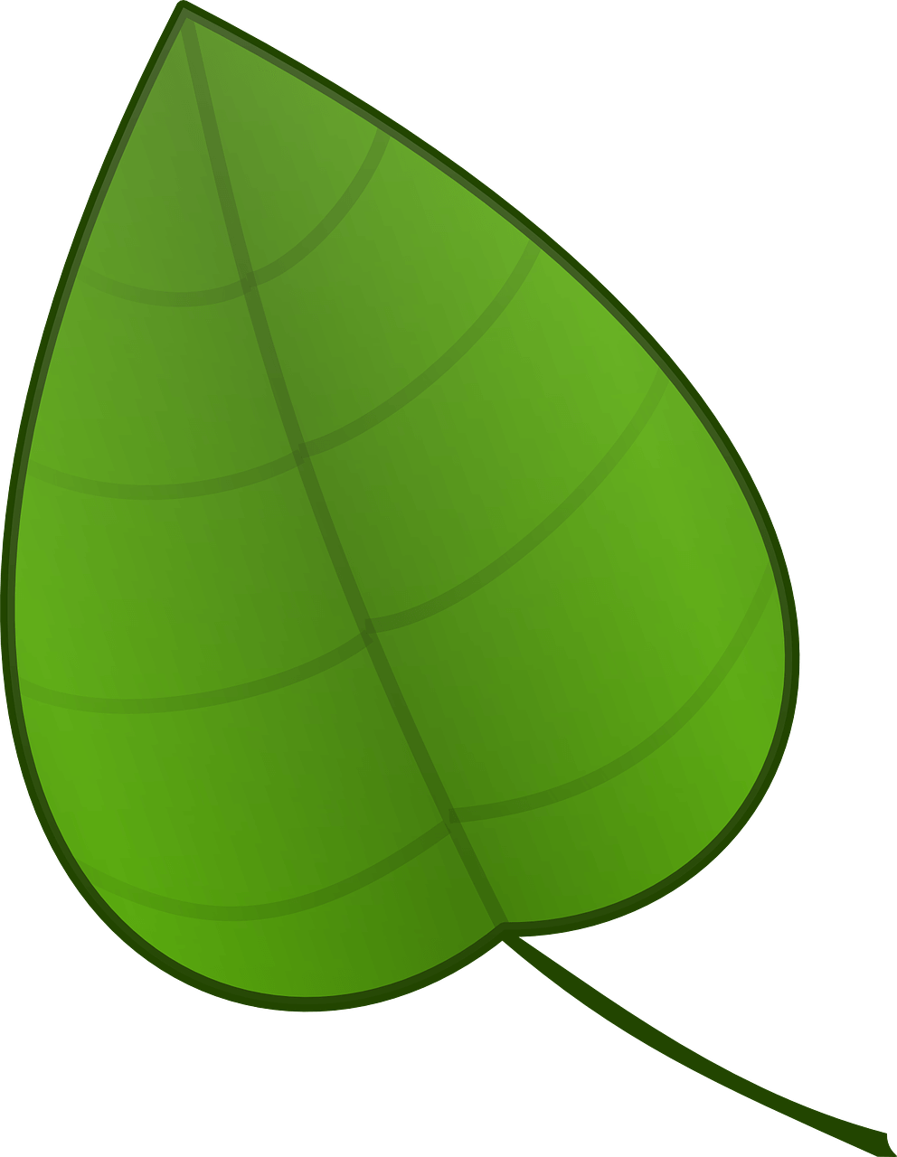 Green Things Clipart.