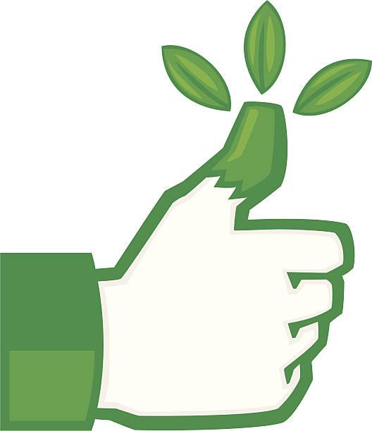 Best Green Thumb Illustrations, Royalty.