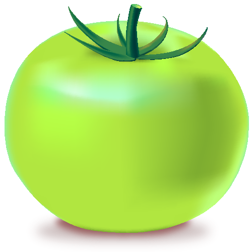GREEN TOMATO Icon(Vegetable).