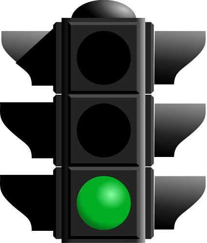 Free Green Traffic Light, Download Free Clip Art, Free Clip Art on.