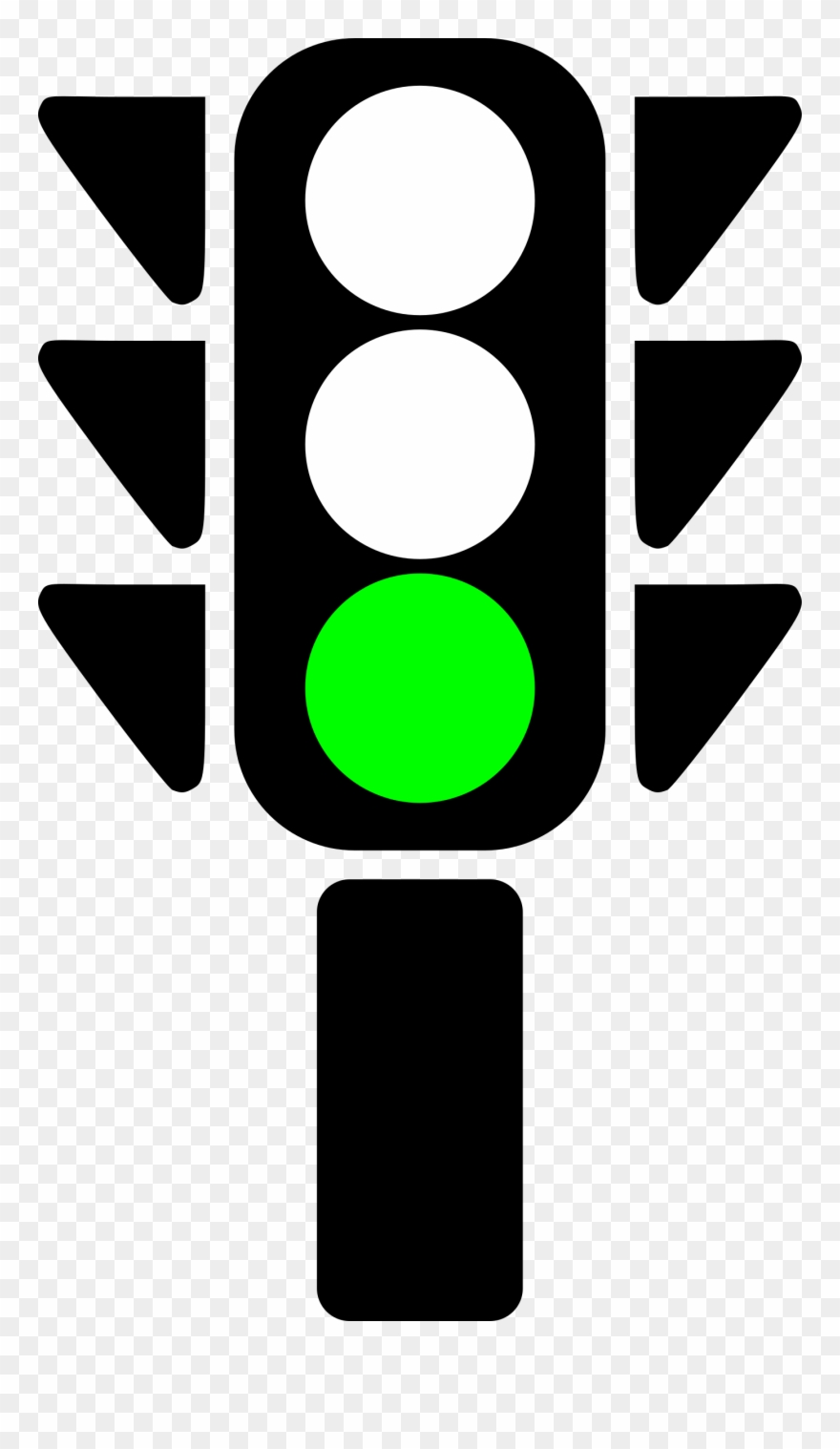Traffic Semaphore Green Light Icons Png Free Png And Clipart.
