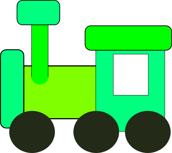 Green Train Clip Art at Clker.com.