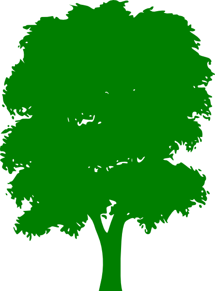 Green Trees Clipart Clker.