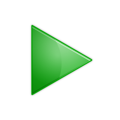 Clipart of green triangle.
