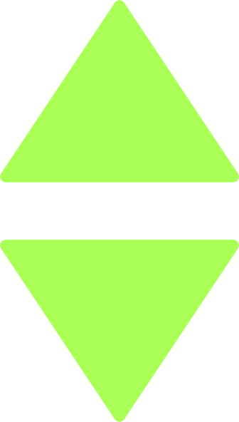 Two Green Triangles Clip Art at Clker.com.