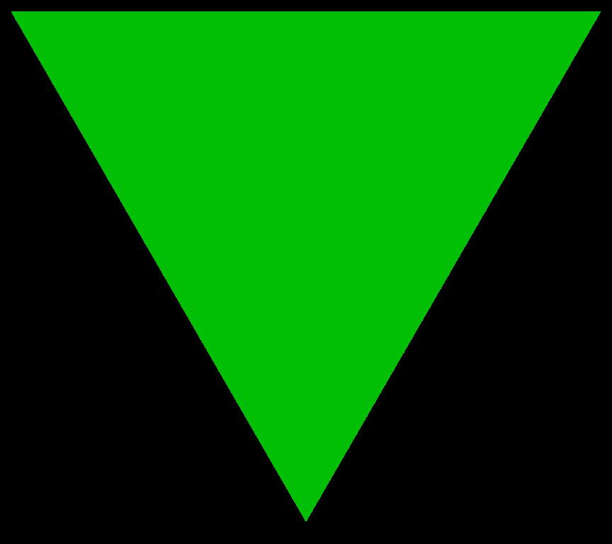 File:Green triangle.svg.