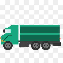 Green Truck, Green Vector, Truck Vector, #63830.