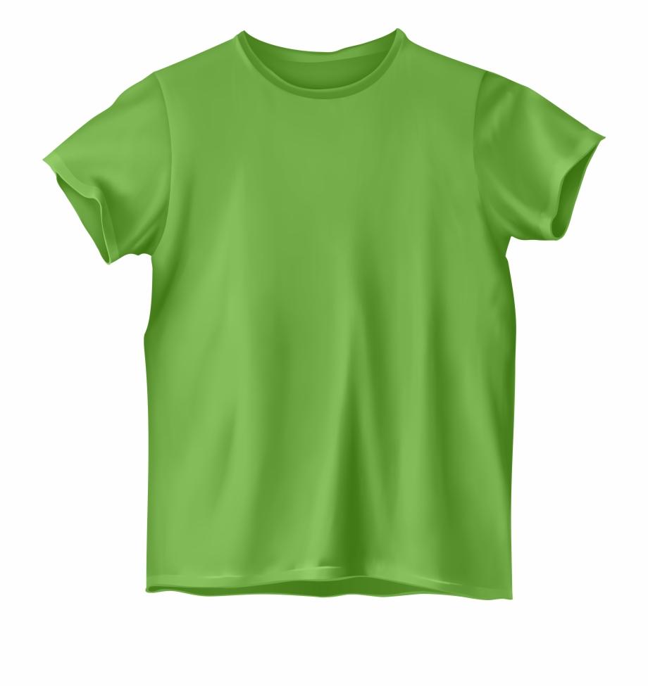 Light Green T Shirt Png Clipart.