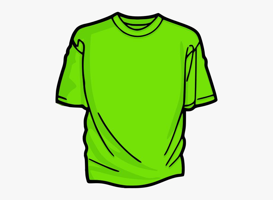 Green T Shirt Clipart.