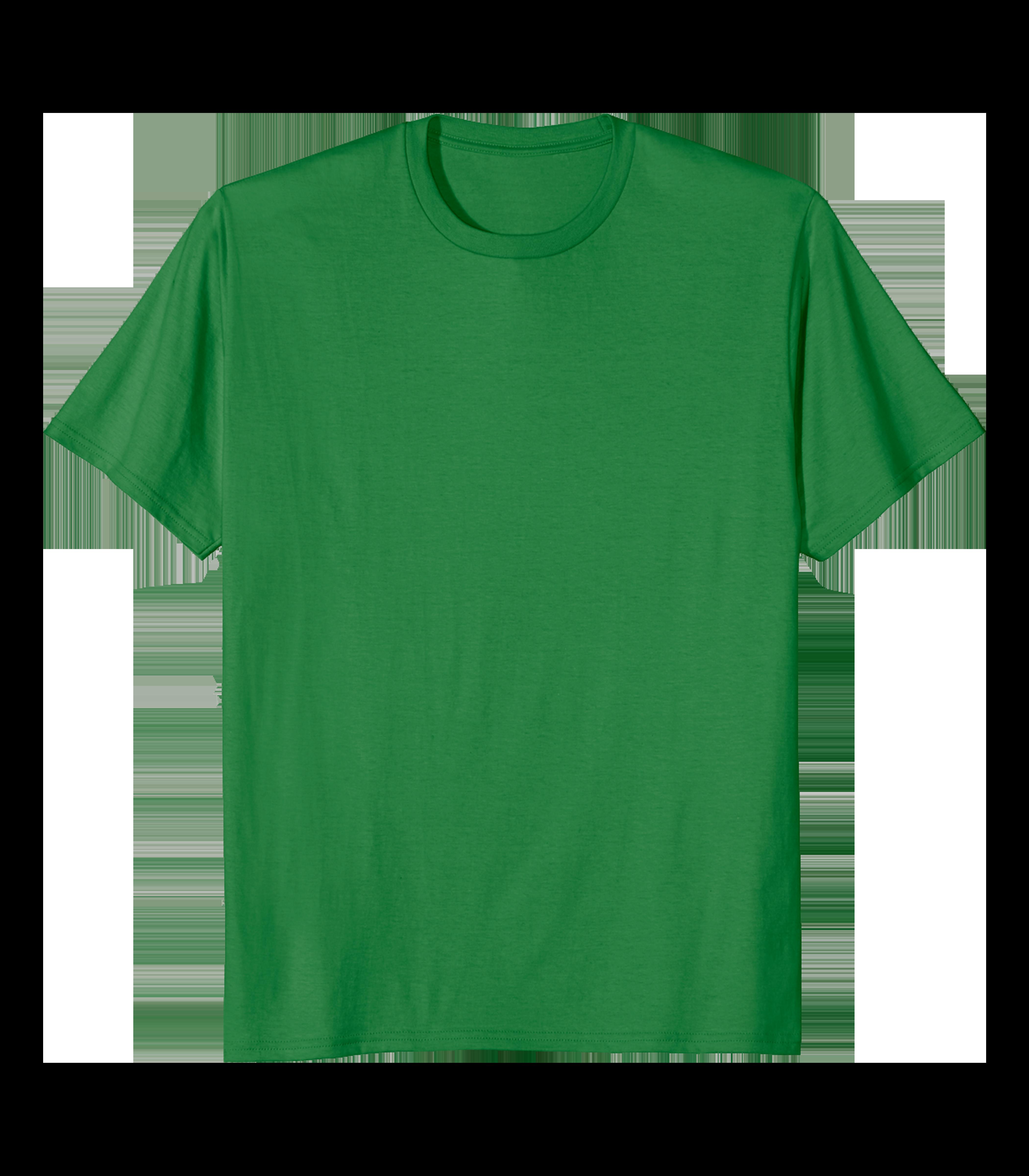 Plain Tshirt Green.