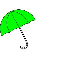 Apple Green Umbrella clipart, cliparts of Apple Green Umbrella.